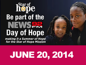Star of Hope helps 1,200 homeless men, women and children every day!